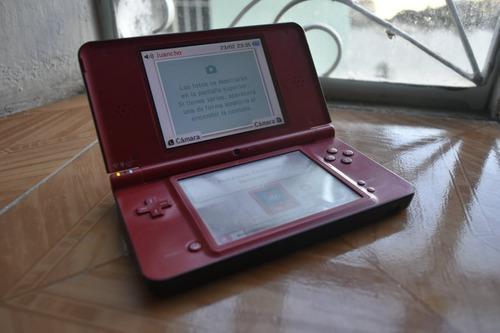 Nintendo Dsi Xl Rojo Super Mario 25th Anniversary + 8 Juegos