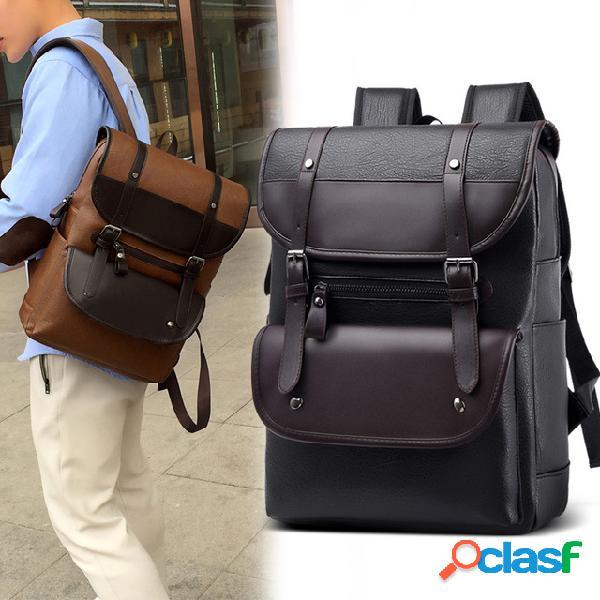 Nueva mochila masculina Impermeable Mochila de viaje macho