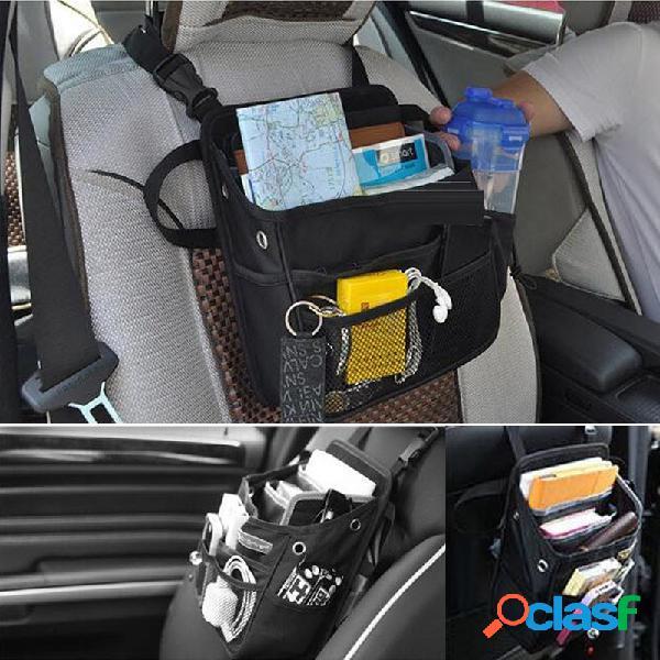 Organizador de asiento de coche Bolsa de almacenamiento de