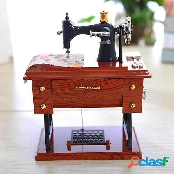 Para la caja de música de Elise clásica máquina de coser