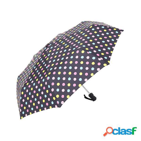 Paraguas plegable a prueba de viento automático Hombres