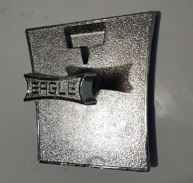 Placa Frontal Cromada Chiclera Ealgle Original