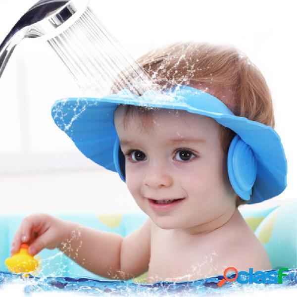Protect Ear Soft Caps Champú infantil Capuchón de ducha