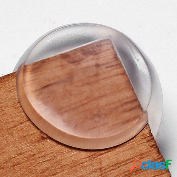 Protector esférico de la esquina de la mesa transparente