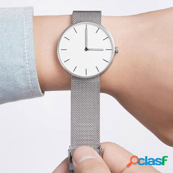 Reloj de pulsera de hombre de cuarzo de moda Relojes con