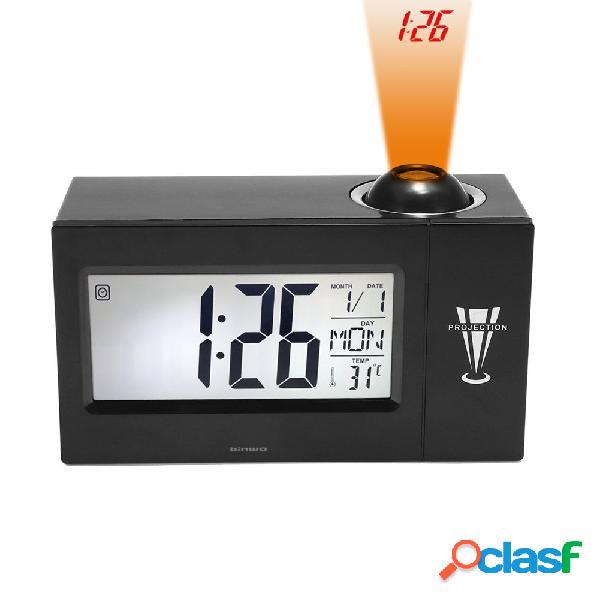 Reloj despertador digital con reloj de cabecera y reloj