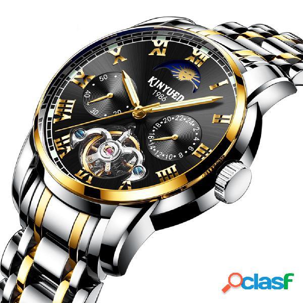 Relojes de hombre de negocios Reloj de pulsera automático