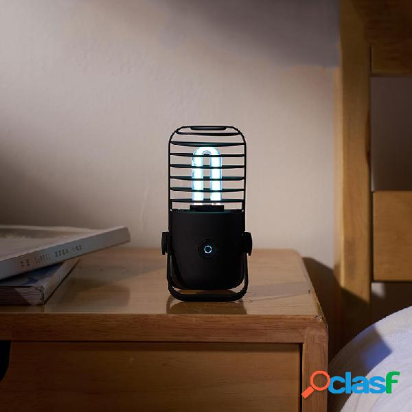 Smartda Esterilizador portátil negro Lámpara UV + Tubo de