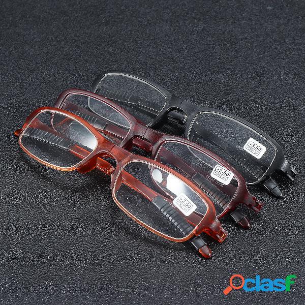 TR90 Soft Plegado ligero Lectura Gafas Lupa Ojo de alivio