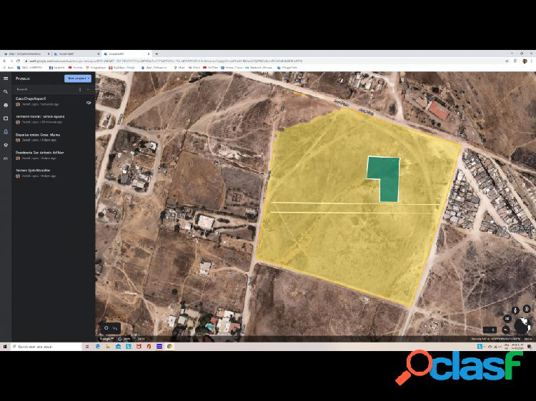 Terreno Ejidal 800 m2 Ojo de Agua