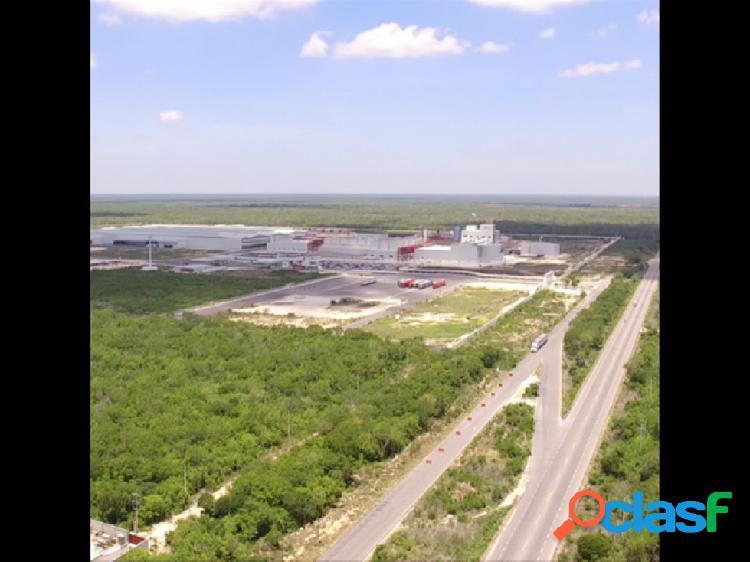 Terreno Industrial en Venta en Merida Yuc.