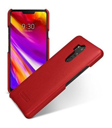 Tetded - Funda De Piel Con Tapa Para LG G7 Thinq / G7 Color