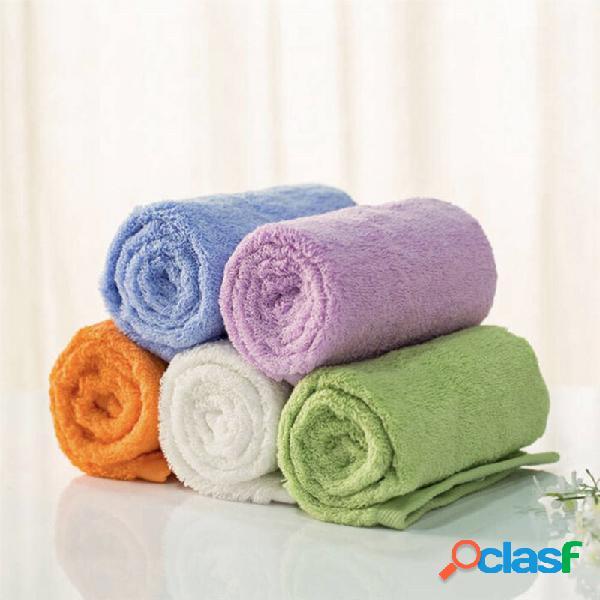 Toallas antibacterianas de la absorción de agua de la tela