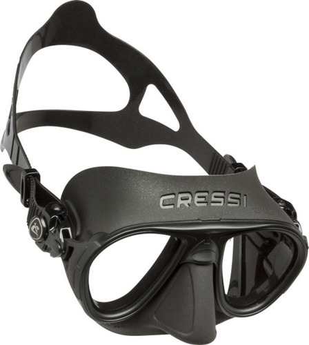 Visor Máscara Para Apnea Calibro Negro Cressi