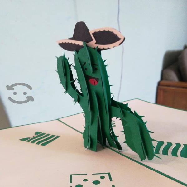 lote de tarjetas de felicitación en 3D