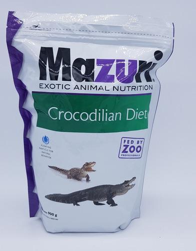 Alimento Balanceado Para Cocodrilo 900 Gr Mazuri