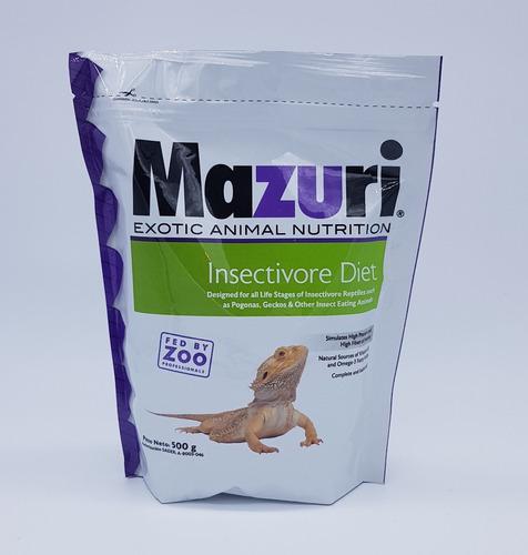 Alimento Balanceado Para Insectívoros 500 Gr Mazuri