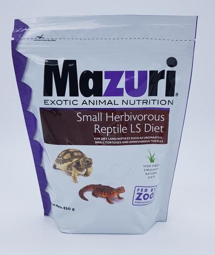 Alimento Balanceado Para Reptiles Herbívoros Pequeños 450