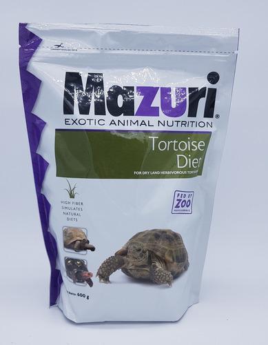 Alimento Balanceado Para Tortuga Terrestre 600 Gr Mazuri