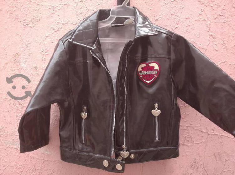 Chamarra Harley Davidson para niña de 3a5 años Nue