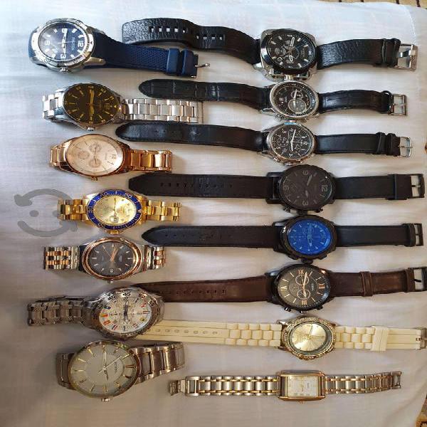 Colección de relojes originales y al 100% de todo