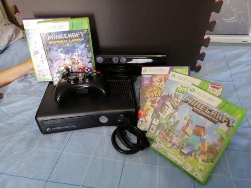Consola X Box 360 Slim Con Juegos.