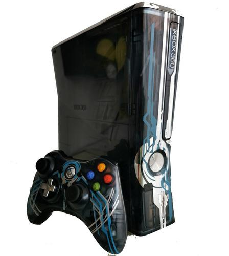 Consola Xbox 360 Edición Halo Con Juegos Disco Duro 320gb