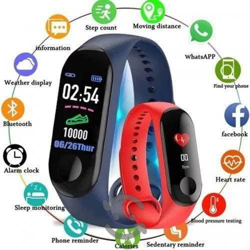 Coolmex Reloj Smartband M3 Medidor Ritmo Cardíaco