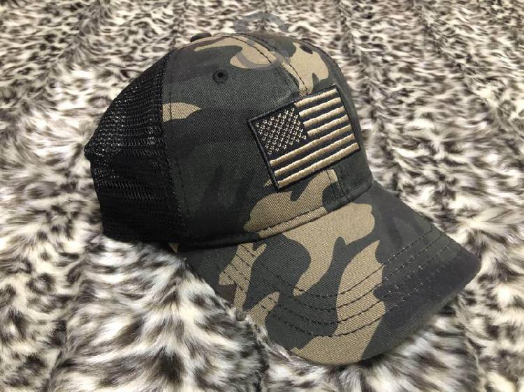 Gorra camuflaje bandera U.S.A