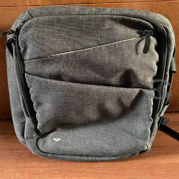 Mochila para laptop (gris obscuro)