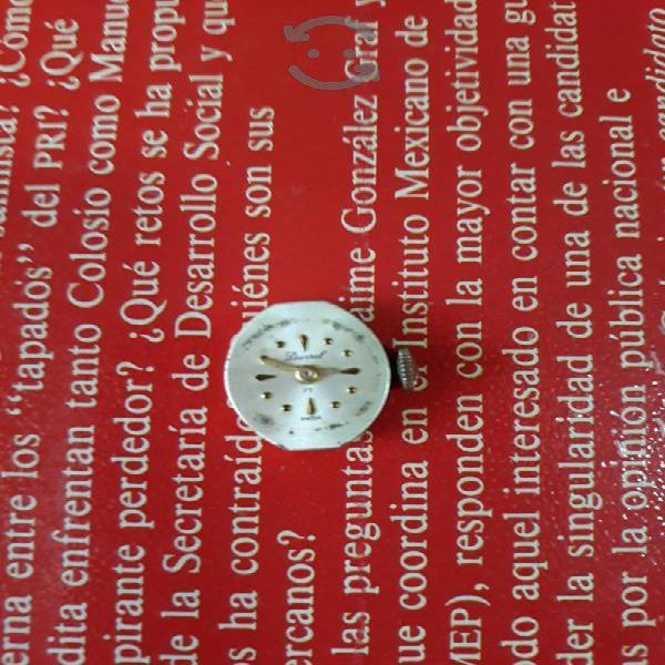 Máquina completa de reloj marca DUVAL swiss made
