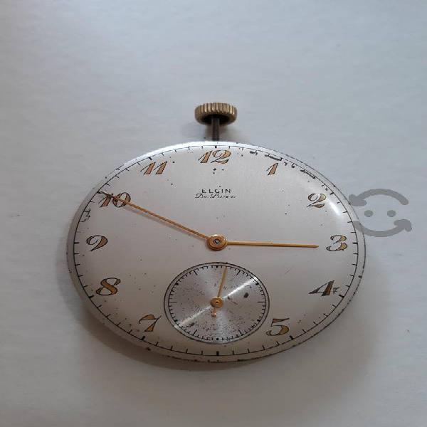 Máquina de reloj de bolsillo ELGIN DE LUXE
