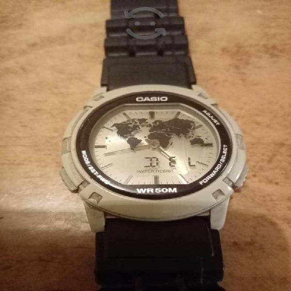 Reloj Casio Vintage Twincept de coleccion