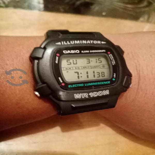 Reloj Casio W-740 Como Nuevo Grande
