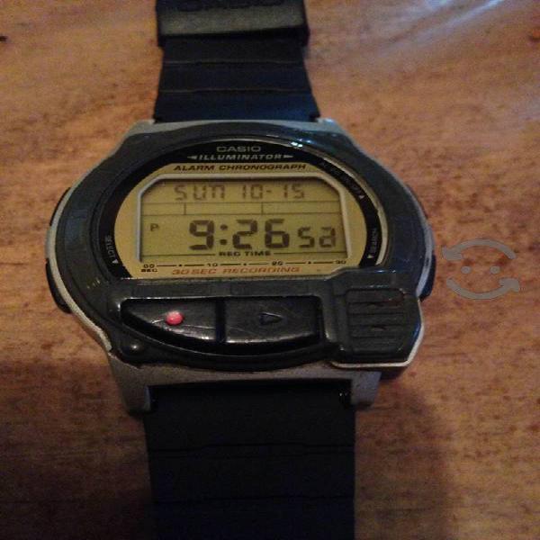 Reloj Casio que Graba Voz Vintage coleccion