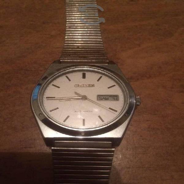 Reloj Citizen Automatico con Idioma Aleman
