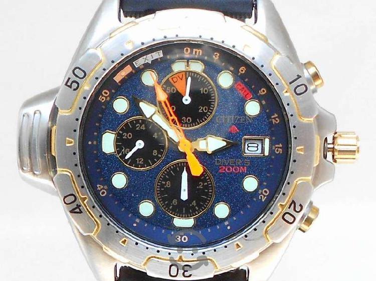 Reloj Citizen Promaster Aqualand Diver's 200M