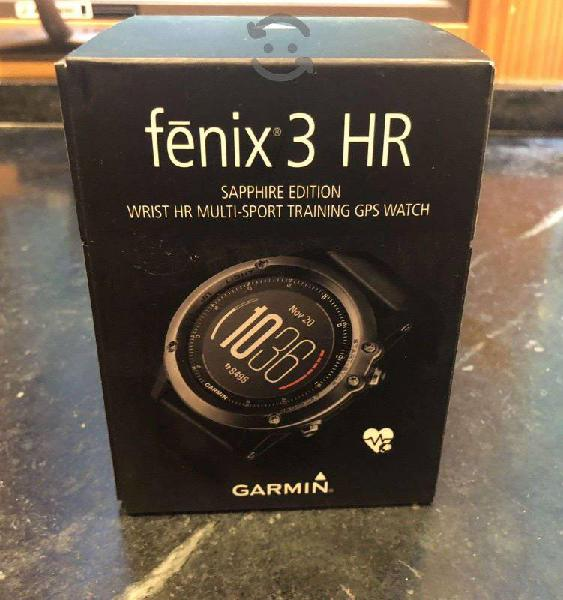 Reloj Garmin fénix 3 HR zafiro