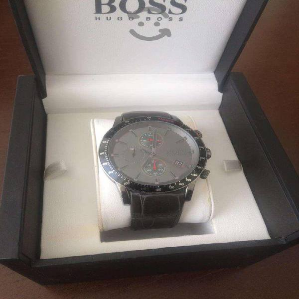 Reloj Hugo Boss Negro correo de Piel