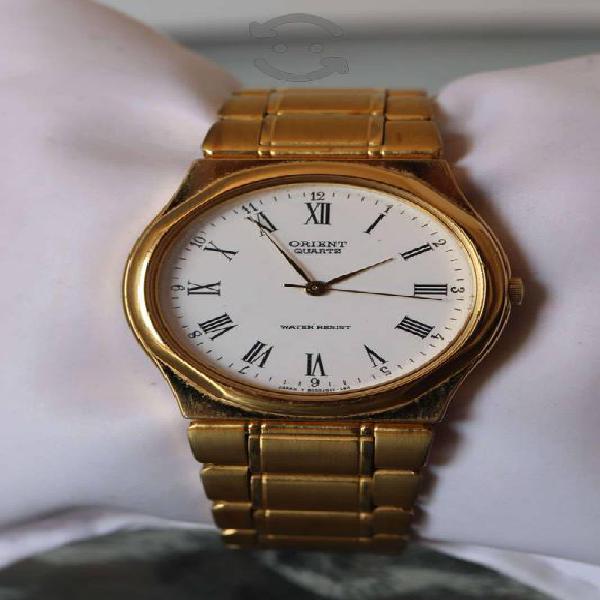 Reloj Orient chapa de oro