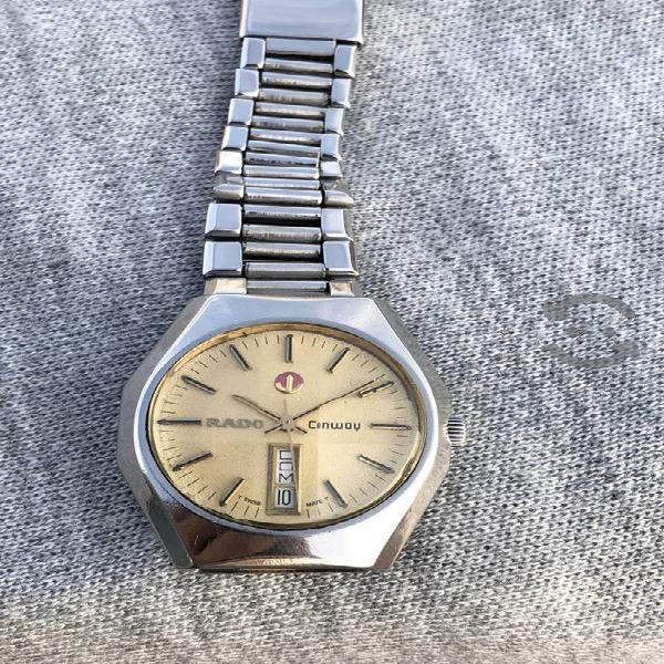 Reloj Rado Conwoy Automátic suizo vintage pulso