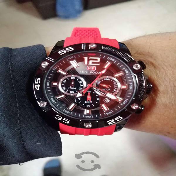 Reloj Sport Mini Focus Red One Plus 333