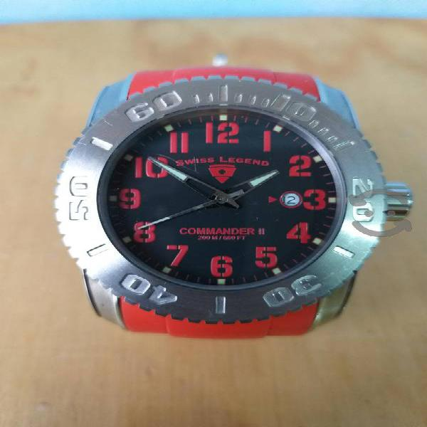 Reloj Swiss Legend Commander