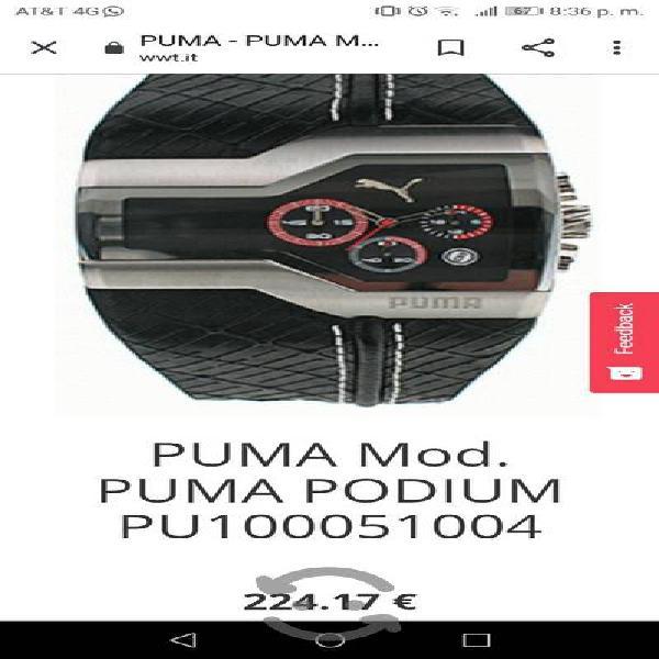Reloj puma original en estuche