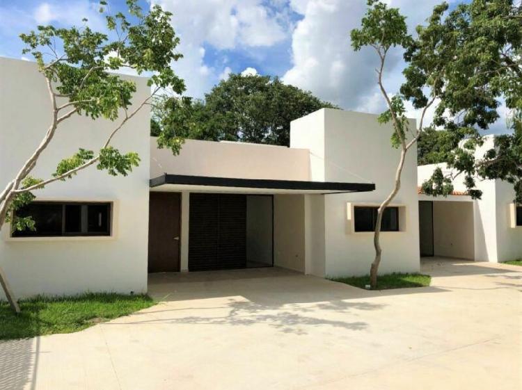 TOWNHOUSE DE UNA PLANTA en VENTA en RUE VILLAS II, Mérida,