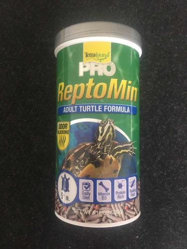 Tetra Reptomin Pro (230 Grs) Adulto C/bloqueador De Olores