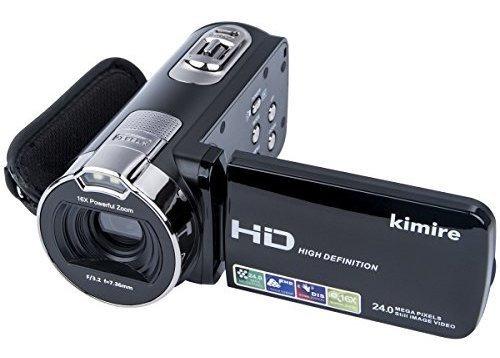 Videocamaras Con Camara Digital Kimire Grabadora Hd p 24