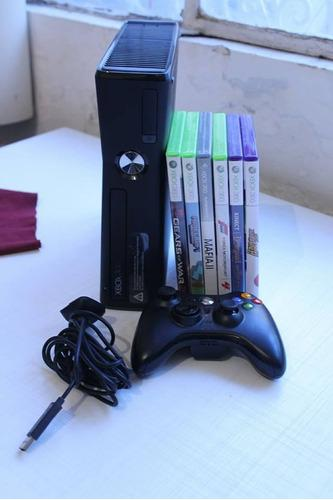 Xbox 360 Con Kinect, Plug And Play Y Varios Juegos