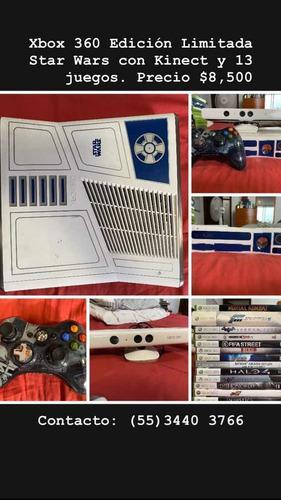 Xbox 360 Edición Star Wars, Kinect, 13 Juegos Y Control
