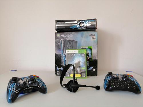Xbox 360 Halo 4 Límited Edition En Excelente Estado